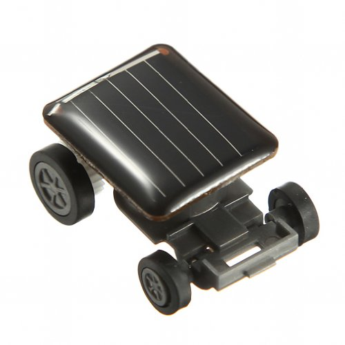 MaxSale The World's Smallest Mini Solar Powered Toy Car Racer