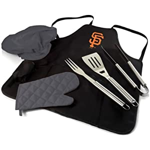 MLB San Francisco Giants BBQ Apron Tote Pro by Picnic Time
