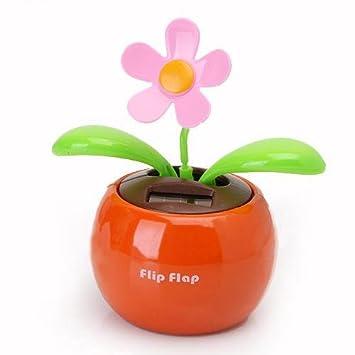 8 balancier fleur solaire solaire swing flap flip for Fenetre voiture