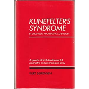 Klinefelter's Syndrome in Childhood, Adolescence, and Youth: A Genetic, Clinical, Developmental, Psychiatric, and Psychological Study 41lFIC2kA-L._SL500_AA300_