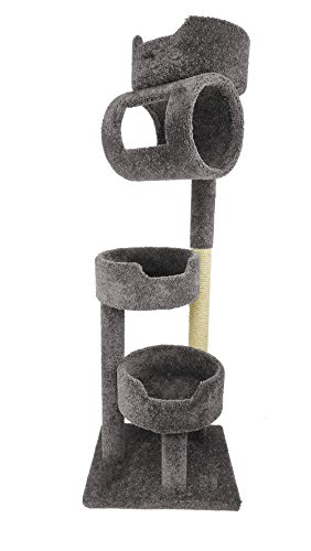 New Cat Condos Premier Twin Towers, Grey