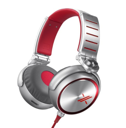 Sony MDRX10/RED X Headphones with 50mm Diaphragms