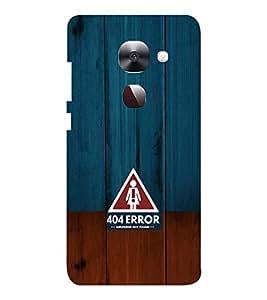EPICCASE 404 Error Girlfriend not found Mobile Back Case Cover For LeEco Le Max2 (Designer Case)