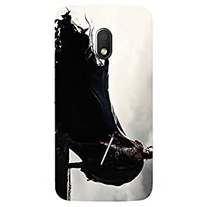 Moto G Play Jon Snow_GOT Printed back cover