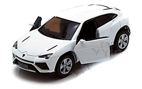 Scale 1/38 Lamborghini Urus pull back action diecast car White - 1