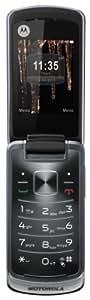 "Motorola MOTOGLEAMGREY - Móvil libre (pantalla de 2,4"" 240 x 320, cámara 2 MP, 5 MB de capacidad) color plata [importado de Francia]"