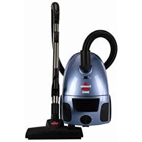 Bissell Zing Bagged Canister Vacuum, 22Q3
