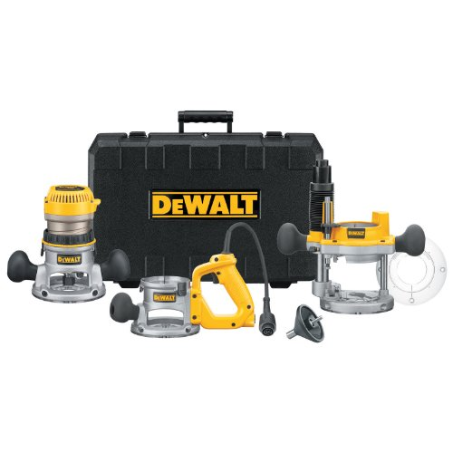 Purchase DEWALT DW618B3 12 Amp 2-1/4 Horsepower Plunge Base and Fixed Base