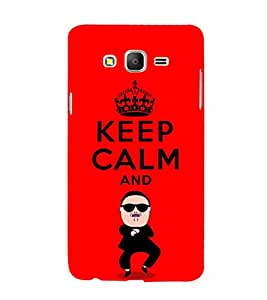 EPICCASE Keep Calm and Swing Mobile Back Case Cover For Samsung Galaxy E7 (Designer Case)