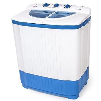 Tectake mini machine a laver 4 5kg essorer 3 5 kg - Petite machine a laver le linge ...