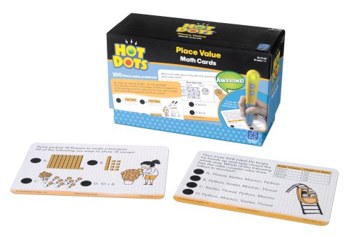Educational Insights Hot Dots Place Value Cards