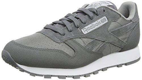 reebok-classic-leather-reflect-mens-low-top-sneakers-grey-shark-flat-grey-white-black-7-uk