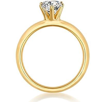 Argent 925 Rempli jaune Topaze pierre de naissance mariage st valentin marque Anneaux