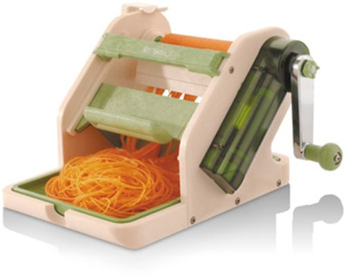 Great price paderno world cuisine dual ribbon spiral - Paderno world cuisine spiral vegetable slicer ...