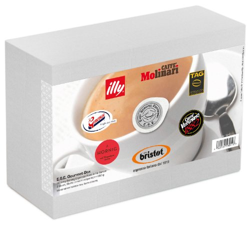 Buy Gourmet' set of samples with 36 ESE Cialde / Servings, 250 g from Business-Coffee GmbH