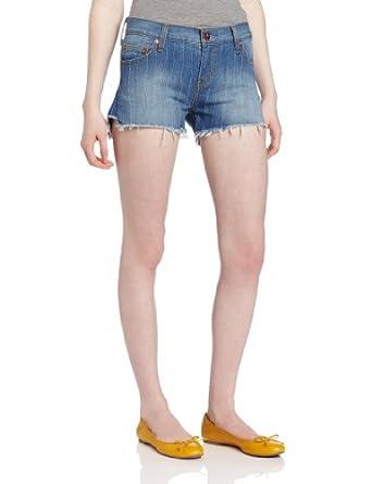 (囤货)Levi's Progressive Pick Stitch Short李维斯女士夏天热裤牛仔裤$8.88