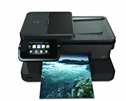 Hewlett Packard PS7520 Wireless Color Photo Printer with Scanner, Copier and Fax