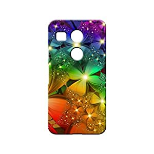 BLUEDIO Designer 3D Printed Back case cover for LG Nexus 5X - G0275