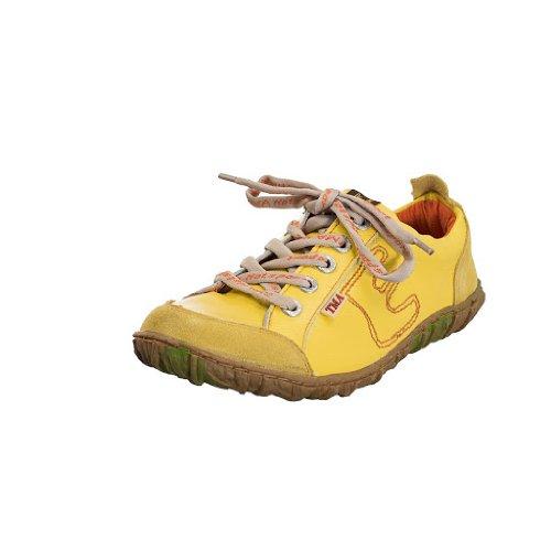 TMA EYES 6636 Schnürer Gr.36-42 mit bequemen perforiertem Fußbett 100% Leder 39.35 super leichter Schuh der neuen Saison. ATMUNGSAKTIV in Gelb Gr. 37