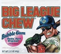Big League Chew Original Bubble Gum - 2.1 oz (12 pack) (042897660004)