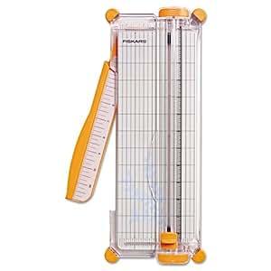 Fiskars SureCut Deluxe Craft Paper Trimmer, 12-Inch Cut Length (1298937797)