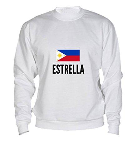 Felpa Estrella city White
