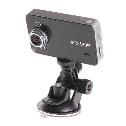 Wisedeal Car Vehicle Blackbox DVR Camera Recorder Full HD 1080P 2.7   Inch TFT Screen With Wide Angle 140 Degree?Black)