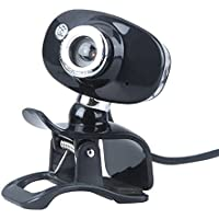 TOOGOO R USB 2.0 50.0M HD Webcam Camera Web Cam With MIC For PC Laptop Computer Silver Black
