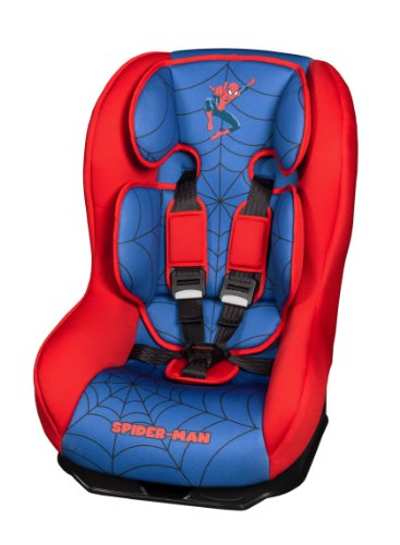 disney-040523-seggiolino-auto-spiderman-gruppo-0-azzurro-rosso