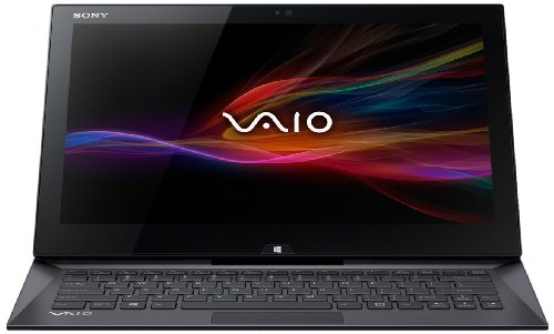 Sony SVD1321L2EB Vaio Duo Ultrabook, Display 13.3 Pollici Triluminos Full HD, Processore Intel Core i5, RAM 4 GB, SSD 128 GB, Nero
