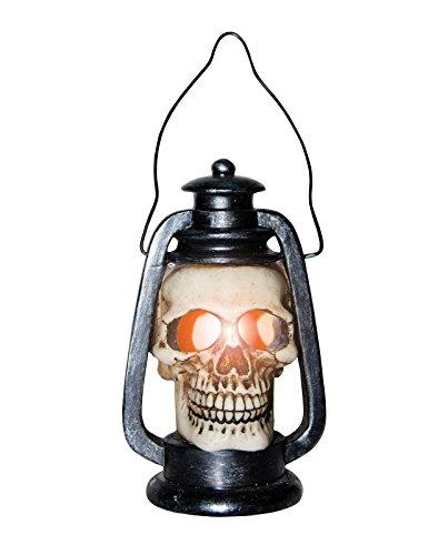 [Light Up Skull Lantern (Bone)] (Disneyland Haunted Mansion Costume)