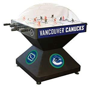Vancouver Canucks Dome Bubble Hockey by Holland Bar Stool