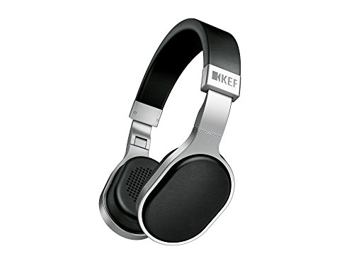 Kef M500 Hi-Fi On-Ear Headphones - Aluminum/Black