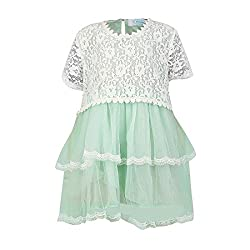 Pikaboo Sea Green Dress with Pearls