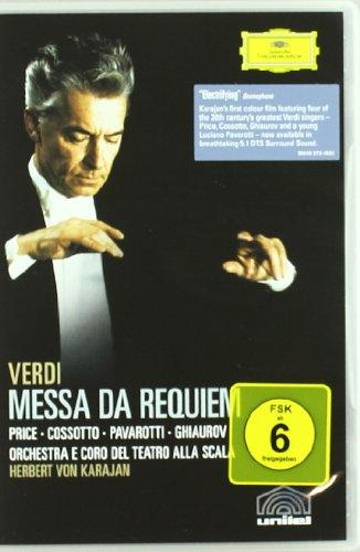 Verdi - Requiem / Price, Pavarotti, Cossotto, Ghiaurov, von Karajan, Teatro alla Scala [DVD] [2005]