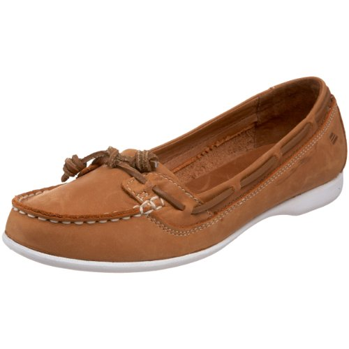 Sebago Women's Felucca Lace Loafer,Brown,10 M US
