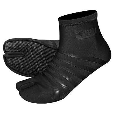 .com: ZEMgear 8000 Men's/Women's Ninja Split Toe High Shoes: Shoes