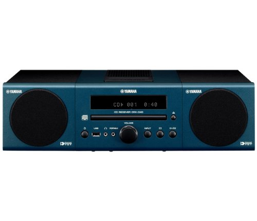 Yamaha MCR-040DBU Micro Component System (Dark Blue)