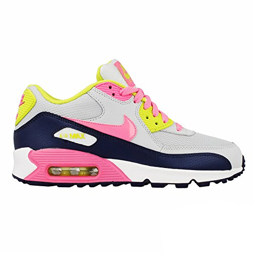 Nike Air Max 90 2007  Girls Running Shoes 345017-019 Pure Pl