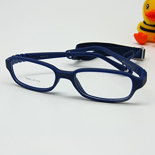 Galleon - EnzoDate Kids Optical Glasses Frame With Cord ...