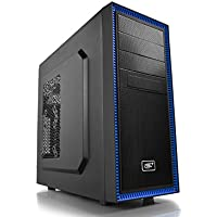Deepcool Tesseract BF ATX Mid Tower Computer Case Chassis (Black)