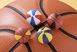 バスケットボール消しゴム(60入)  / お楽しみグッズ(紙風船)付きセット [おもちゃ&ホビー]
