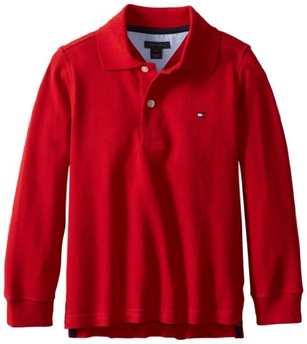 Tommy Hilfiger Boys 2-7 Long Sleeve Ivy Polo
