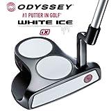 オデッセイ ODYSSEY ゴルフ ホワイトアイス WHITE ICE iX 2・ボール BALL パター クランクホーゼル 34インチ