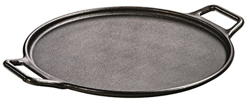 Lodge P14P3 Pro-Logic Cast Iron Pizza Pan, 14-inch, Black (Deep Dish Pizza Baking Stone compare prices)