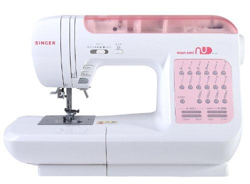 シンガー コンピュータミシン モナミ「ヌウ」 SC101 (SC100シリーズの特別仕様)