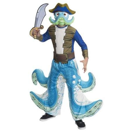 Skylanders Wash Buckler Child Costume Large