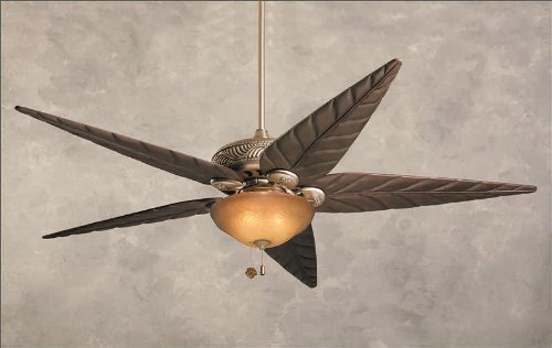 Tommy Bahama Tb344Ap Bahama Breezes Indoor/Outdoor Ceiling Fan, 52-Inch Blade Span, Antique Pewter Finish, Blades Sold Separately front-134905