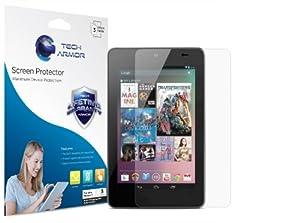 Tech Armor Google Nexus 7 (Original 1st Generation) Tablet Anti-Glare/Anti-Fingerprint (Matte) Screen Protectors [3-Pack] Lifetime Warranty