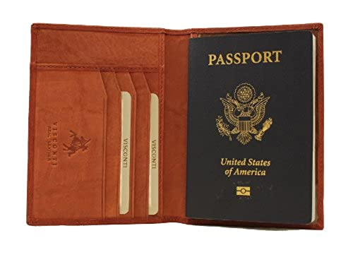 07. Visconti Soft Leather Passport Cover – POLO 2201